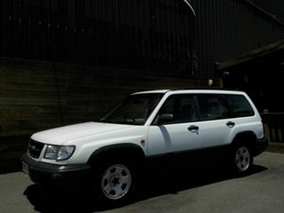 1999 Subaru Forester 79V MY99 Limited AWD White 4 Speed Automatic Wagon