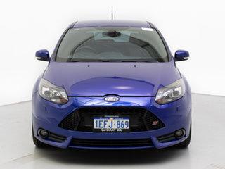 2013 Ford Focus LW MK2 ST Blue 6 Speed Manual Hatchback.