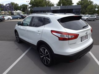 2016 Nissan Qashqai J11 TL White 1 Speed Constant Variable Wagon.