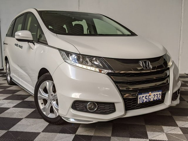 Used Honda Odyssey RC MY20 VTi Victoria Park, 2019 Honda Odyssey RC MY20 VTi White 7 Speed Constant Variable Wagon