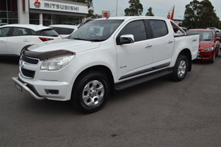 2013 Holden Colorado RG MY13 LTZ Crew Cab White 5 Speed Manual Utility