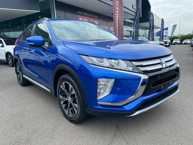 Used Mitsubishi Eclipse Cross YA MY18 LS 2WD Cardiff, 2018 Mitsubishi Eclipse Cross YA MY18 LS 2WD Blue 8 Speed Constant Variable Wagon