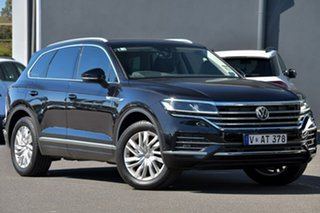 2020 Volkswagen Touareg CR MY20 190TDI Tiptronic 4MOTION Black 8 Speed Sports Automatic Wagon.