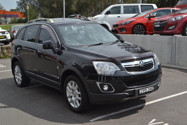 Used Holden Captiva CG MY13 5 LT Maitland, 2013 Holden Captiva CG MY13 5 LT Black 6 Speed Manual Wagon