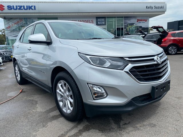 Used Holden Equinox EQ MY18 LS+ FWD Cardiff, 2017 Holden Equinox EQ MY18 LS+ FWD Silver 6 Speed Sports Automatic Wagon