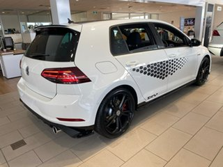 2020 Volkswagen Golf 7.5 MY20 GTI TCR DSG Pure White/Black Roof 6 Speed Sports Automatic Dual Clutch.