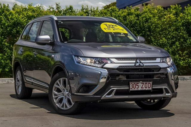 Used Mitsubishi Outlander ZL MY20 ES 2WD Aspley, 2019 Mitsubishi Outlander ZL MY20 ES 2WD Titanium Grey 6 Speed Constant Variable Wagon