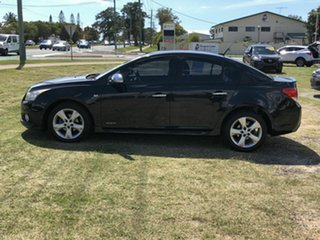 2012 Holden Cruze JH Series II MY12 SRi Black 6 Speed Sports Automatic Sedan