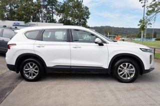 2018 Hyundai Santa Fe TM MY19 Active White 8 Speed Sports Automatic Wagon.