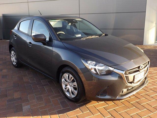 Used Mazda 2 DJ2HAA Neo SKYACTIV-Drive Toowoomba, 2018 Mazda 2 DJ2HAA Neo SKYACTIV-Drive Grey 6 Speed Sports Automatic Hatchback