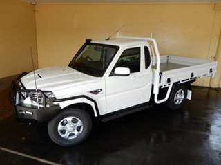 2020 Mahindra Pik-Up MY20 4WD S6+ Pastoral Pack White 6 Speed Manual Cab Chassis