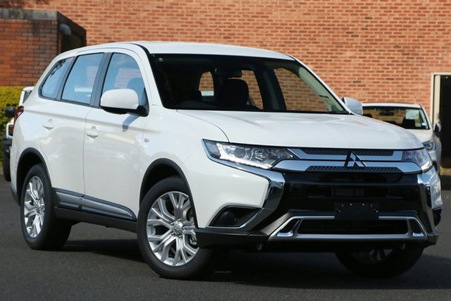 New Mitsubishi Outlander ZL MY21 ES 2WD Hamilton, 2020 Mitsubishi Outlander ZL MY21 ES 2WD White 6 Speed Constant Variable Wagon