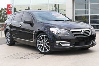 2016 Holden Calais VF II MY16 V Sportwagon Black 6 Speed Sports Automatic Wagon.