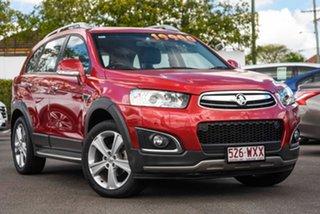 2015 Holden Captiva CG MY16 LTZ AWD Red 6 Speed Sports Automatic Wagon.