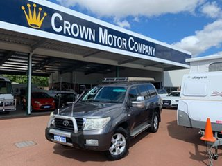 2011 Toyota Landcruiser VDJ200R Altitude SE Grey 6 Speed Automatic Wagon.