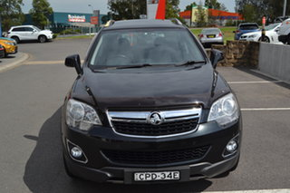 2013 Holden Captiva CG MY13 5 LT Black 6 Speed Manual Wagon.