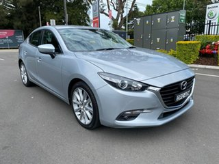 2016 Mazda 3 BM5236 SP25 SKYACTIV-MT Silver 6 Speed Manual Sedan.