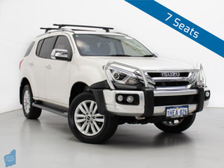 2018 Isuzu MU-X UC MY17 LS-T (4x4) White 6 Speed Auto Sequential Wagon.