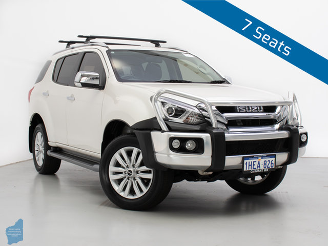 Used Isuzu MU-X UC MY17 LS-T (4x4), 2018 Isuzu MU-X UC MY17 LS-T (4x4) White 6 Speed Auto Sequential Wagon