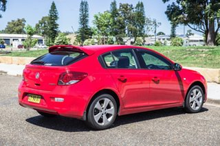 2014 Holden Cruze JH Series II MY14 Equipe Red 5 Speed Manual Hatchback