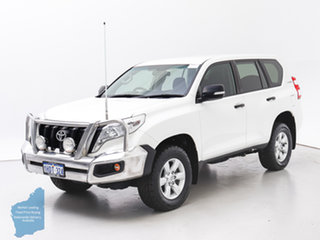 2016 Toyota Landcruiser Prado GDJ150R MY16 GX (4x4) White 6 Speed Automatic Wagon.