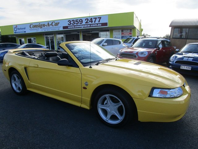 Used Ford Mustang GT Kedron, 1999 Ford Mustang GT Yellow Convertible