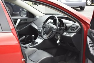 2009 Mazda 3 BL10L1 SP25 Red 6 Speed Manual Sedan