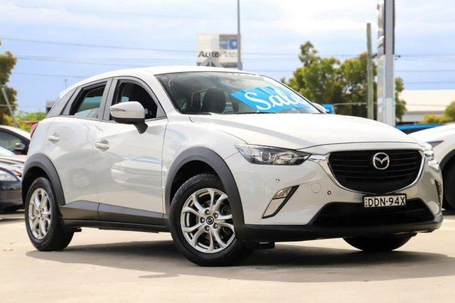 Used Mazda CX-3 DK2W7A Maxx SKYACTIV-Drive Kirrawee, 2016 Mazda CX-3 DK2W7A Maxx SKYACTIV-Drive White 6 Speed Sports Automatic Wagon