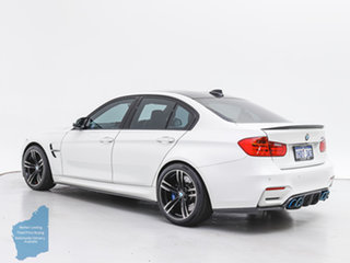 2015 BMW M3 F80 MY15 White 7 Speed Auto Dual Clutch Sedan