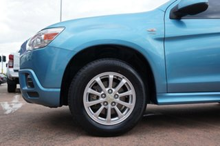 2010 Mitsubishi ASX XA (2WD) Blue 5 Speed Manual Wagon.