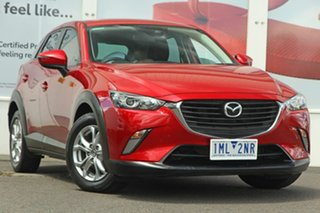2017 Mazda CX-3 DK2W7A Maxx SKYACTIV-Drive Soul Red 6 Speed Sports Automatic Wagon.