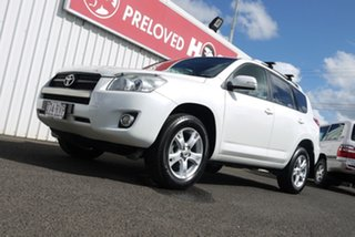 2011 Toyota RAV4 ACA33R MY11 Altitude White 4 Speed Automatic Wagon.