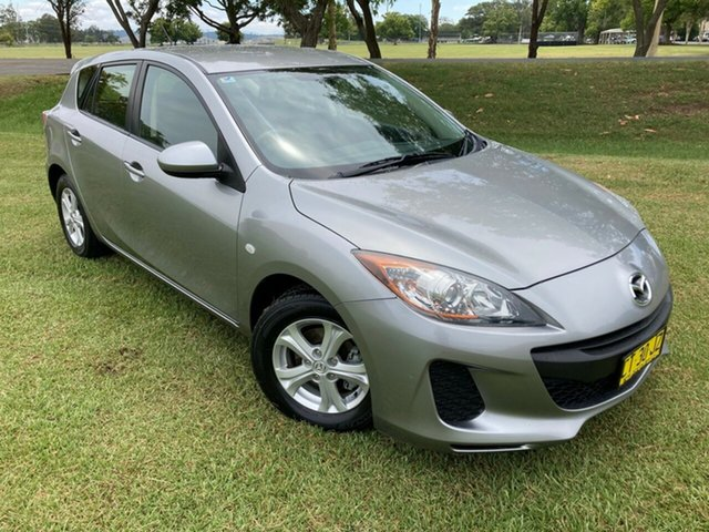 Pre-Owned Mazda 3 BL10F2 Neo South Grafton, 2012 Mazda 3 BL10F2 Neo Silver 6 Speed Manual Hatchback