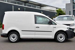2020 Volkswagen Caddy 2KN MY20 TSI220 SWB DSG White 7 Speed Sports Automatic Dual Clutch Van.