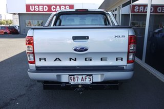 2014 Ford Ranger PX XLS Double Cab Silver 6 Speed Manual Utility