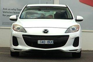 2013 Mazda 3 BL10F2 MY13 Neo White 6 Speed Manual Hatchback.