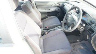 2005 Mitsubishi Lancer CH MY05 ES White 4 Speed Automatic Sedan