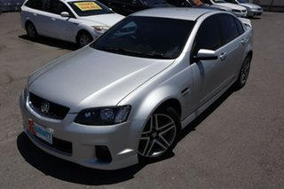2011 Holden Commodore VE II MY12 SV6 Silver 6 Speed Manual Sedan.