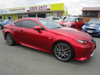 2015 Lexus RC GSC10R RC350 F Sport Red 8 Speed Sports Automatic Coupe.
