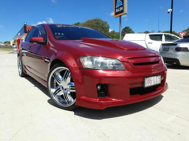 Used Holden Calais VE Springwood, 2007 Holden Calais VE Wilkinshaw Red Sedan