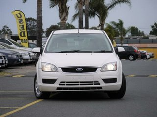 2006 Ford Focus LS LX White 5 Speed Manual Hatchback.