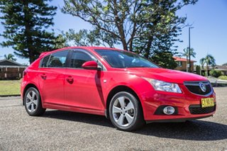 2014 Holden Cruze JH Series II MY14 Equipe Red 5 Speed Manual Hatchback.