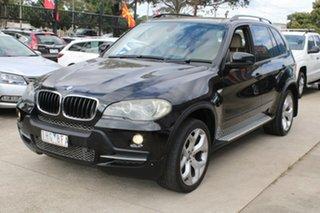 2007 BMW X5 E70 3.0D Executive Black 6 Speed Auto Steptronic Wagon.