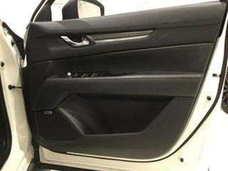 2019 Mazda CX-5 KF4WLA GT SKYACTIV-Drive i-ACTIV AWD Snowflake White 6 Speed Sports Automatic Wagon