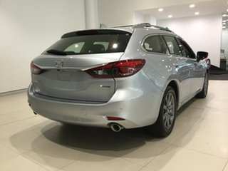 2019 Mazda 6 GL1033 Touring SKYACTIV-Drive Sonic Silver 6 Speed Sports Automatic Wagon.