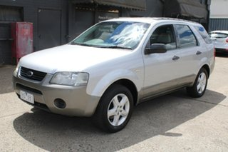 2005 Ford Territory SX TS (RWD) Silver 4 Speed Auto Seq Sportshift Wagon.