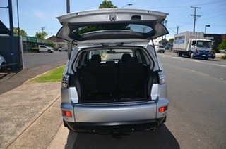 2010 Mitsubishi Outlander ZH MY10 LS Silver 6 Speed CVT Auto Sequential Wagon