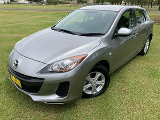 2012 Mazda 3 BL10F2 Neo Silver 6 Speed Manual Hatchback.