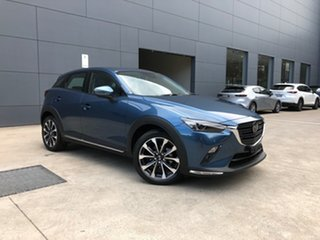 2020 Mazda CX-3 DK2W7A Akari SKYACTIV-Drive FWD Eternal Blue 6 Speed Sports Automatic Wagon.