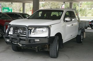 2015 Nissan Navara D23 RX King Cab White 6 Speed Manual Utility